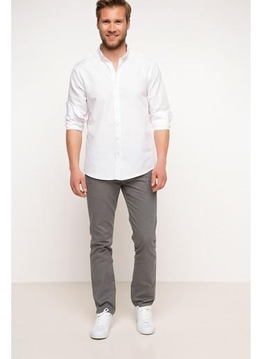 DeFacto Basic Gabardin Chino Pantolon Gri